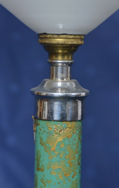 Details Zu Art Deco Lampe Gr 252 Ne Deckenlampe Glasschirm