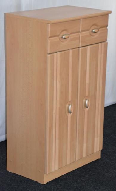 Kleiner garderoben schuhschrank buche furniert for Kleine kommode buche